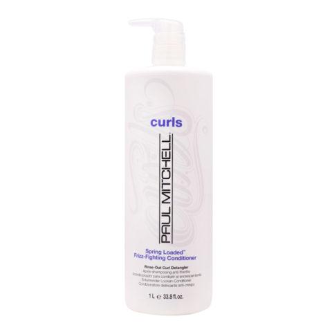 Paul Mitchell Curls Spring loaded™ Frizz-fighting conditioner 1000ml - balsamo capelli ricci