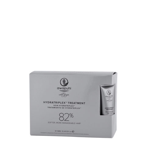 Paul Mitchell Awapuhi wild ginger HydraTriplex treatment fiale 10x10ml - fiale idratanti per capelli secchi