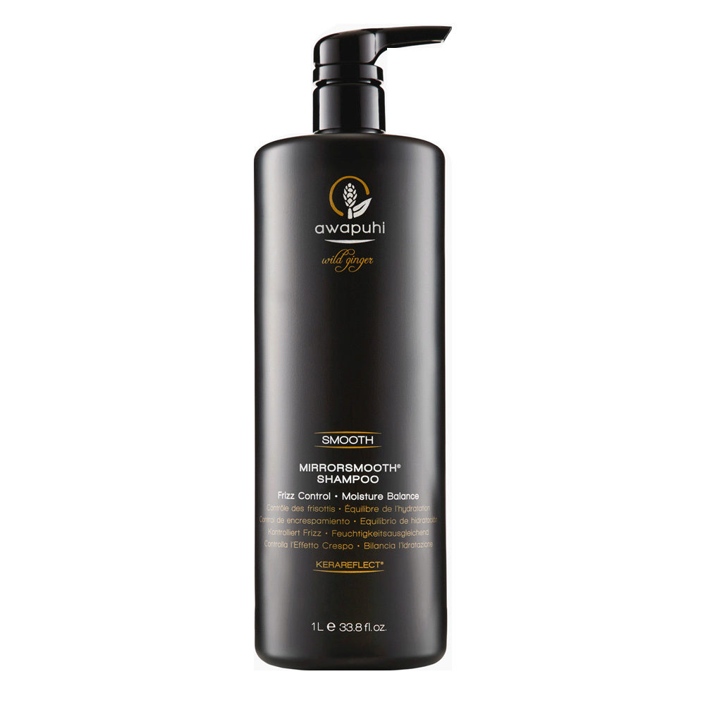 Paul Mitchell Awapuhi wild ginger Mirrorsmooth Shampoo 1000ml - anticrespo