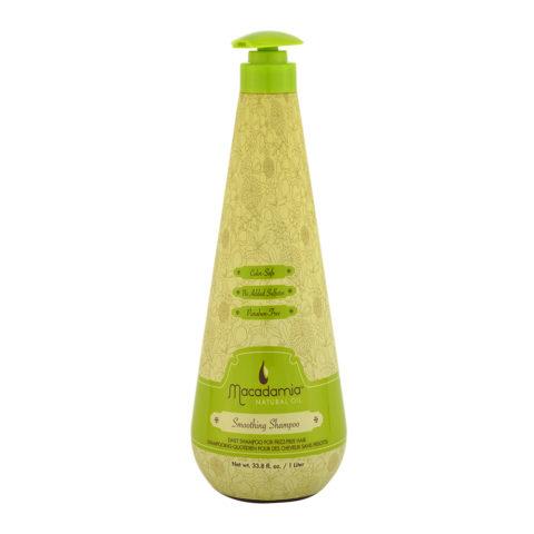 Macadamia Smoothing Shampoo 1000ml - shampoo anticrespo