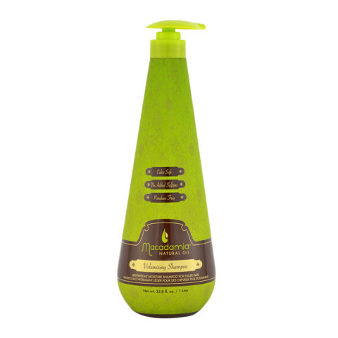 Macadamia Volumizing Shampoo 1000ml - shampoo volumizzante