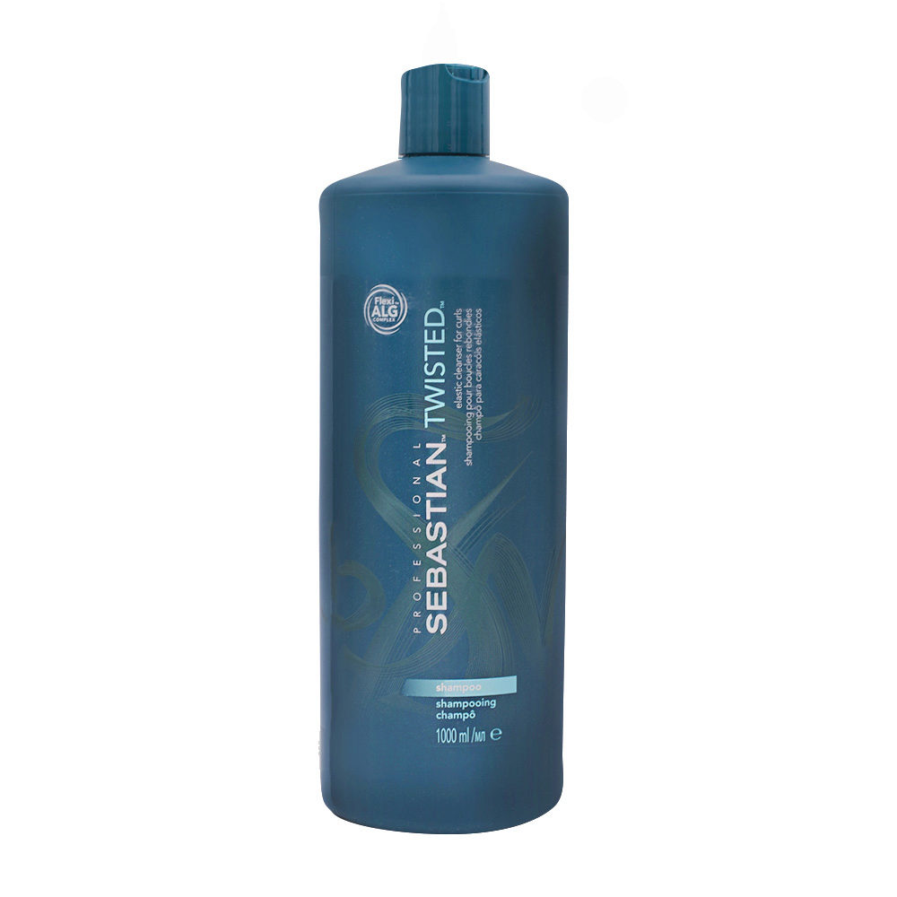 Sebastian Twisted Shampoo 1000ml - shampoo ricci