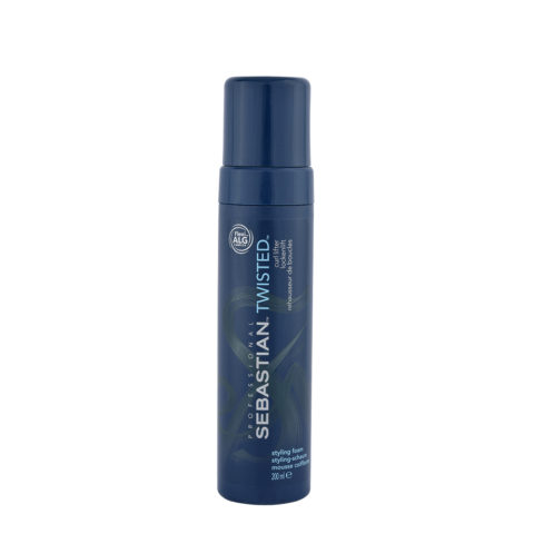 Sebastian Twisted Styling Foam 200ml - schiuma per ricci