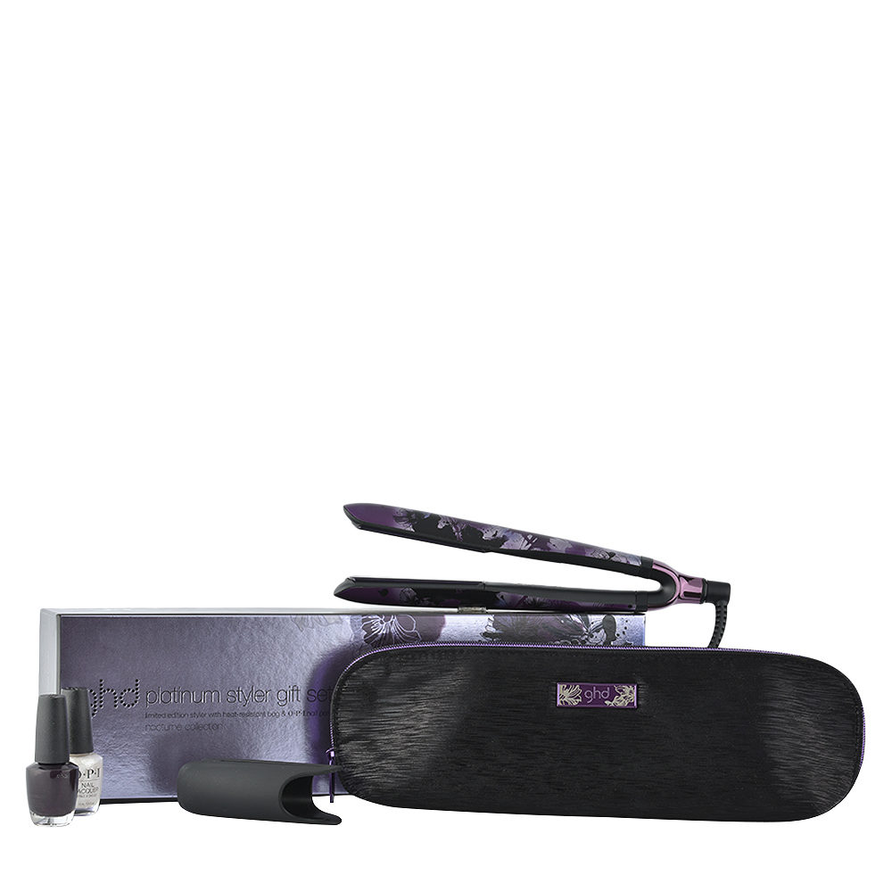 GHD Nocturne Collection Platinum Styler Gift Set - piastra platinum