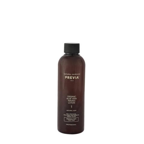 Previa Organic Aloe Vera liquido ondulante profumato 200ml - per capelli naturali