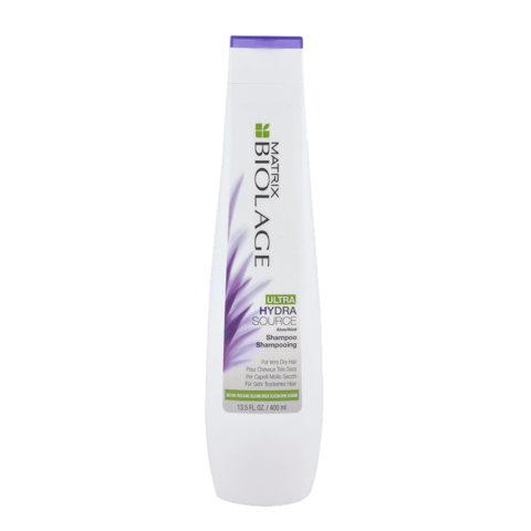 Biolage Ultra Hydrasource Shampoo 400ml - Shampoo Idratante Per Capelli Molto Secchi