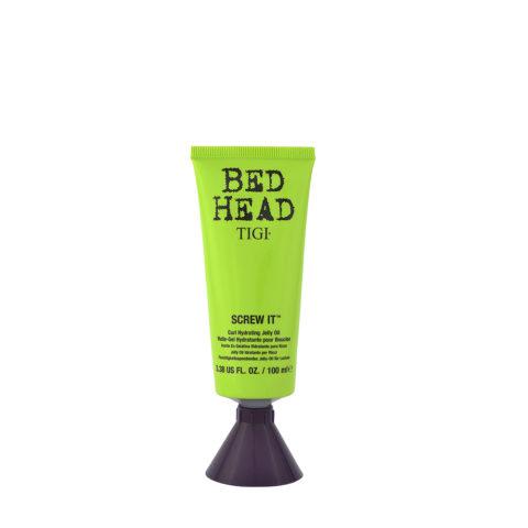 Tigi Bed Head Ricci Screw It Curl Hydrating Jelly Oil 100ml - olio in gel idratante ricci