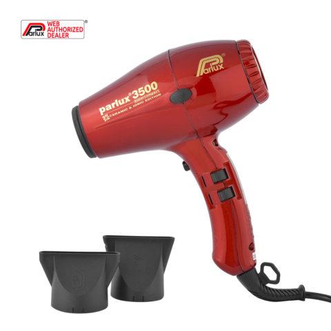 Parlux 3500 Supercompact rosso - asciugacapelli