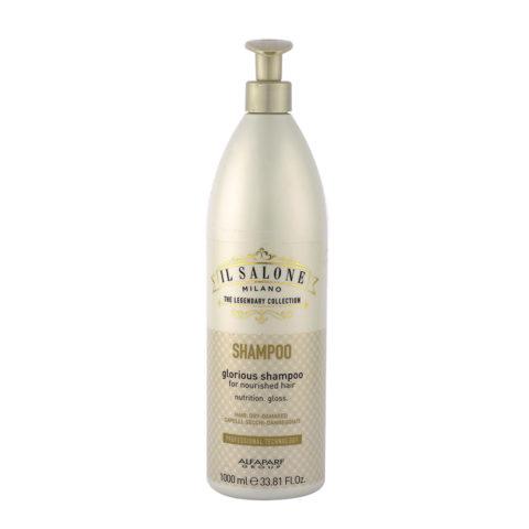Alfaparf Il Salone Glorious Shampoo 1000ml - Per Capelli Secchi E Danneggiati