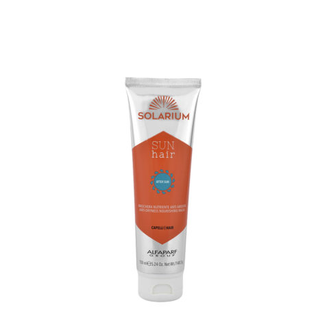 Alfaparf Solarium Sun Hair After-Sun Maschera Nutriente Anti Aridità 150ml