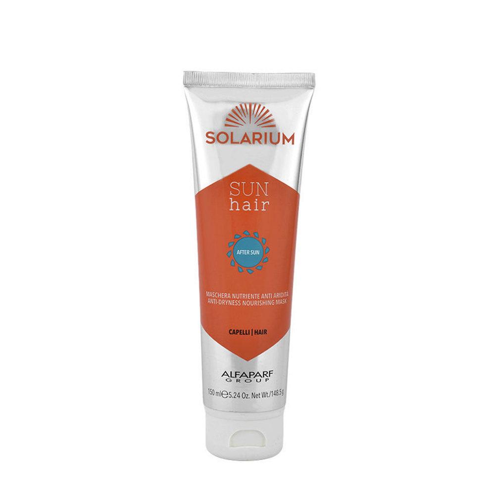Alfaparf Solarium Sun Hair After-Sun Maschera Nutriente Anti Aridità 150ml