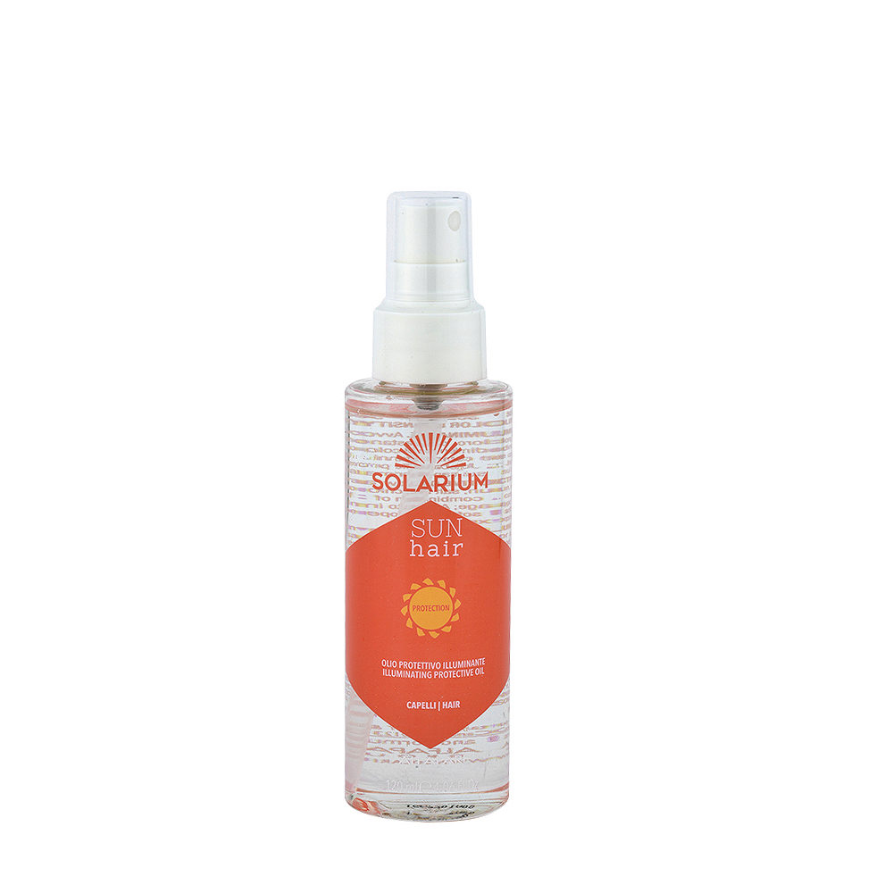 Alfaparf Solarium Sun Hair Protection Olio Protettivo Illuminante 125ml