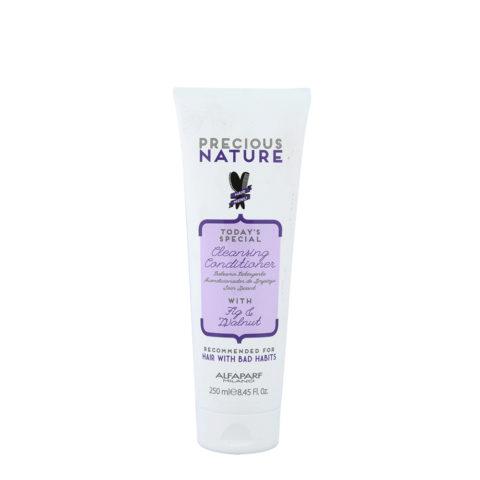 Alfaparf Precious Nature Bad Hair Habits Cleansing Conditioner 250ml - Shampoo E Balsamo Ristrutturante
