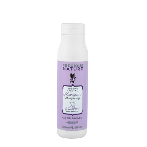 Alfaparf Precious Nature Bad Hair Habits Shampoo 250ml - Ristrutturante Per Capelli Deboli E Fragili