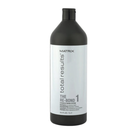 Matrix Total results The Re-bond 1 Shampoo 1000ml - ricostruzione post-decolorazione