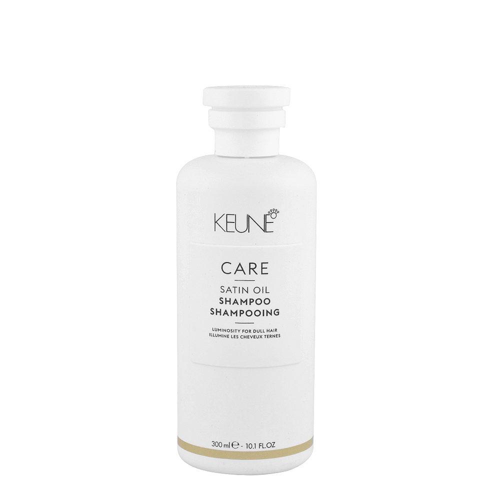 Keune Care line Satin oil Shampoo 300ml - shampoo illuminante per capelli secchi e spenti