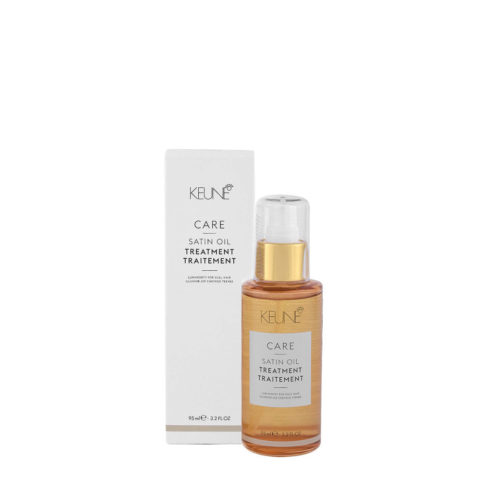 Keune Care line Satin oil Treatment 95ml - olio Illuminante per capelli spenti
