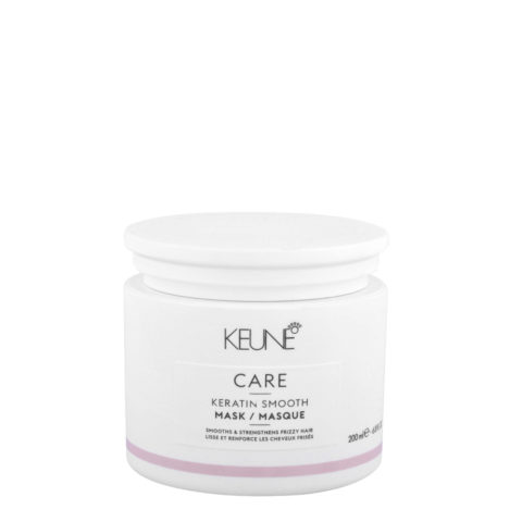 Keune Care line Keratin smoothing Mask 200ml - Maschera anticrespo per capelli ribelli