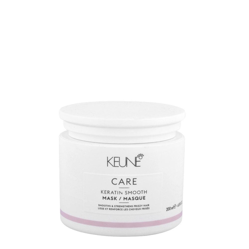 Keune Care line Keratin smoothing Mask 200ml - Maschera anticrespo per capelli ribelli