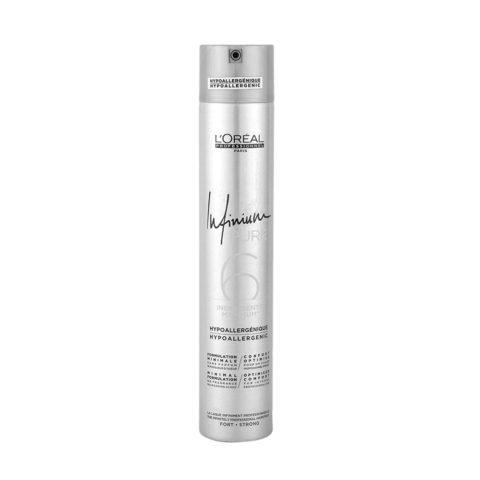 L'Oreal Hairspray Infinium Pure Strong 500ml - lacca inodore tenuta forte