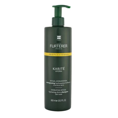 René Furterer Karité Hydrating ritual Shine Shampoo 600ml - shampoo idratante per capelli secchi