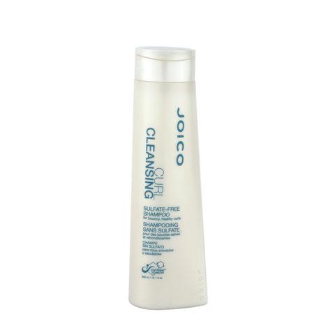 Joico Curl Cleansing Sulfate free Shampoo 300ml - senza solfati - capelli ricci