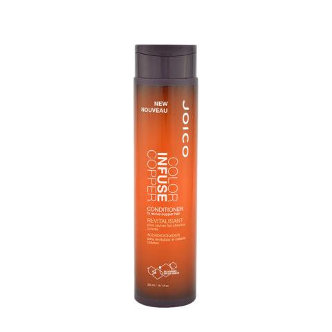 Joico Color Infuse Copper Conditioner 300ml - balsamo capelli ramati