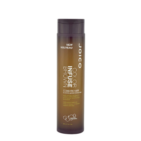 Joico Color Infuse Brown Conditioner 300ml - balsamo riflessante capelli castani