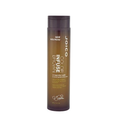Joico Color Infuse Brown Conditioner 300ml - balsamo capelli castani