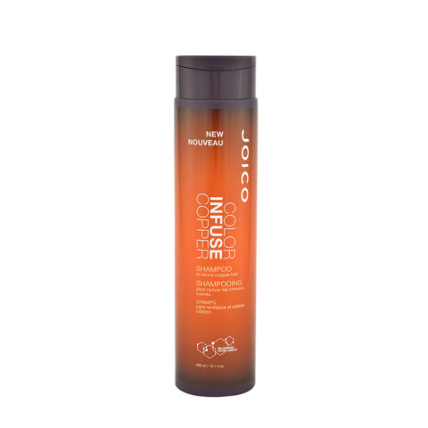 Joico Color Infuse Copper Shampoo 300ml - shampoo rame capelli rossi o ramati
