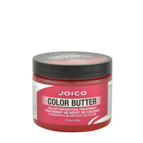 Joico Color Butter Red 177ml - maschera colore temporaneo rossa