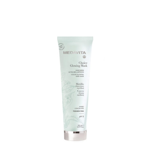 Medavita Choice Glowing Mask 150ml - maschera ultra brillantezza