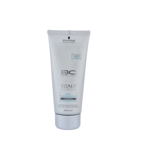 Schwarzkopf BC Bonacure Scalp Genesis Anti-dandruff Shampoo 200ml - antiforfora