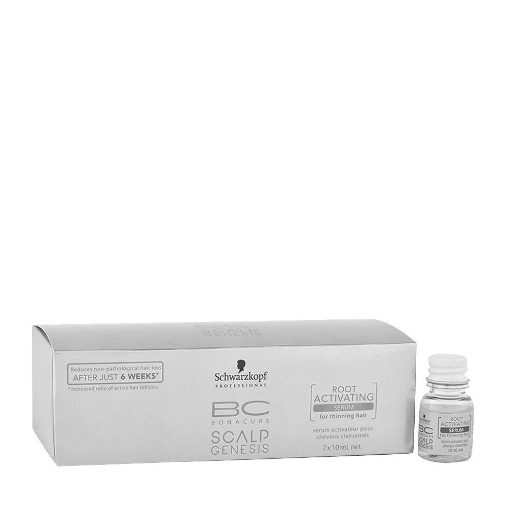 Schwarzkopf BC Bonacure Scalp Genesis Root activating Serum 7x10ml - siero anticaduta