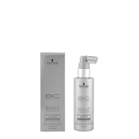Schwarzkopf BC Bonacure Scalp Genesis Detox treatment 100ml - siero detossinante per cute normale o grassa