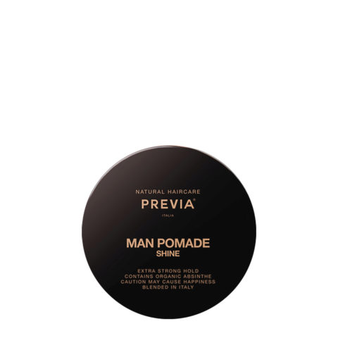 Previa Man Pomade Shine 100ml - brillantina tenuta forte