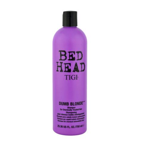 Tigi Bed Head Dumb Blonde Shampoo 750ml - per capelli trattati biondi