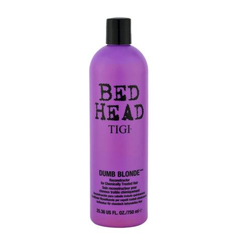Tigi Bed Head Dumb Blonde Reconstructor 750ml - balsamo riparatore capelli trattati biondi