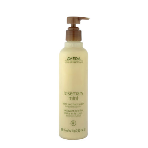 Aveda Bodycare Rosemary mint hand & body wash 250ml - bagnoschiuma biologico