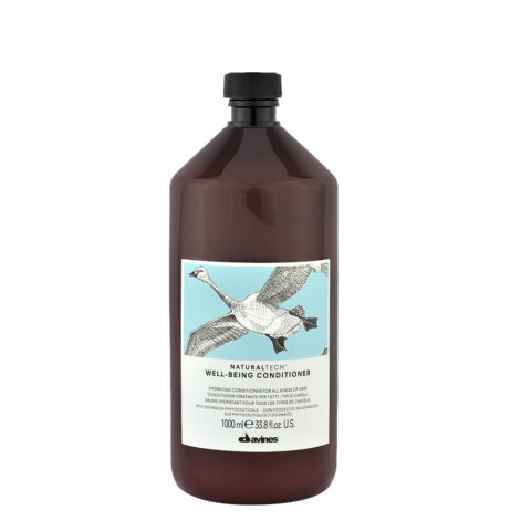 Davines Naturaltech Wellbeing Conditioner 1000ml - balsamo idratante