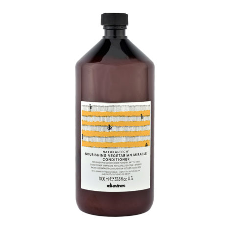 Davines Naturaltech Nourishing Vegetarian Miracle Conditioner 1000ml - Balsamo ristrutturante