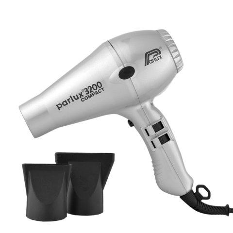 Parlux 3200 Compact - Asciugacapelli argento