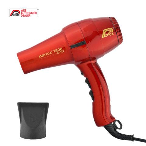Parlux 1800 Eco edition - Asciugacapelli rosso