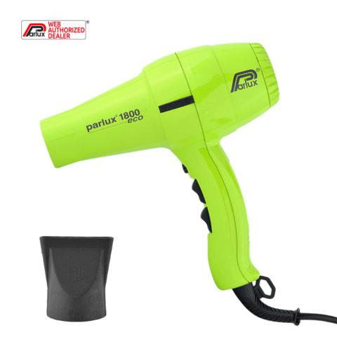 Parlux 1800 Eco edition - Asciugacapelli verde