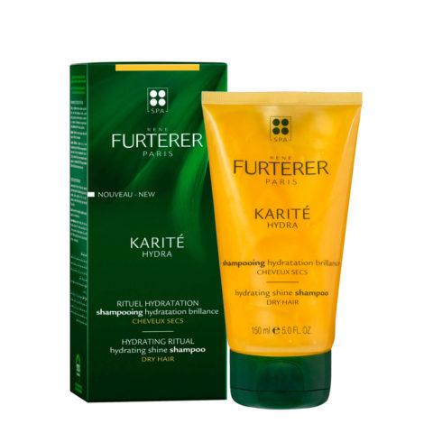 René Furterer Karité Hydrating ritual Shine Shampoo 150ml - Shampoo idratazione brillantezza