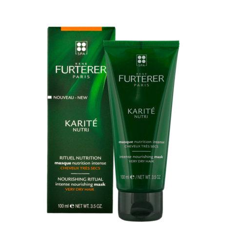 René Furterer Karité Intense Nourishing Mask 100ml - Maschera nutrizione intensa