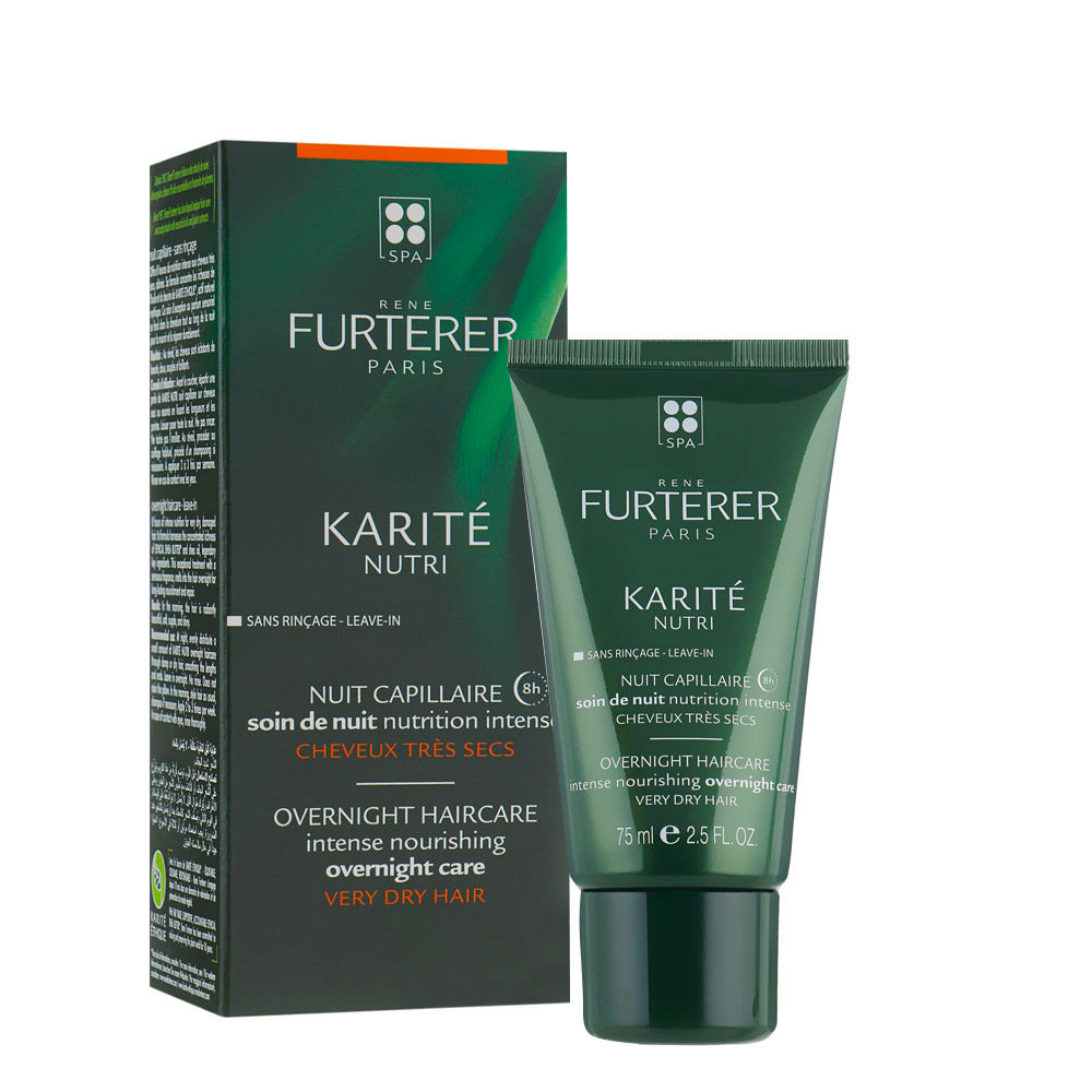 René Furterer Karité Nourishing Overnight Treatment 75ml - Trattamento notte nutrizione intensa