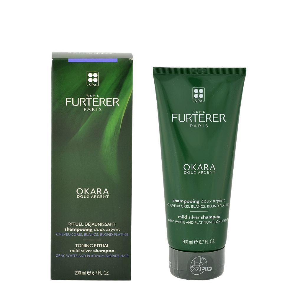 René Furterer Okara Mild Silver Shampoo 200ml - shampoo delicato argento edde917c38ec