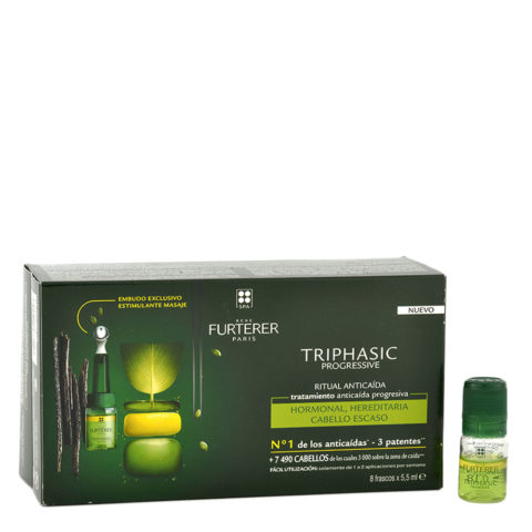 René Furterer Triphasic Vht Siero stimolante 8x5,5ml