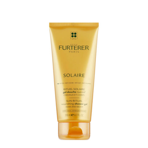 René Furterer Solaire Nourishing Shower Gel Hair and Body 200ml - doccia shampoo doposole